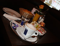Frühstück im Cafe Go West